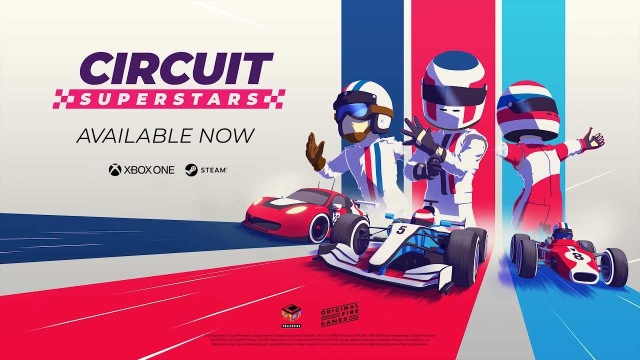 Circuit Superstars | Release Trailer | Square Enix Collective | English | [ESRB] - Square Enix Collective