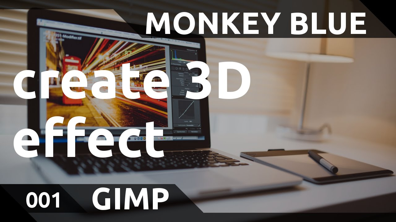 how to create hrd with gimp