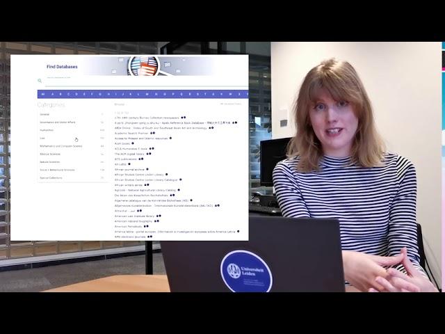 Remote Access van de Universitaire Bibliotheken Leiden