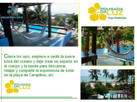 VIAJES DE YOGA - YOGA TRIPS IN POUSADA DA LUZ - BRAZIL !!!
