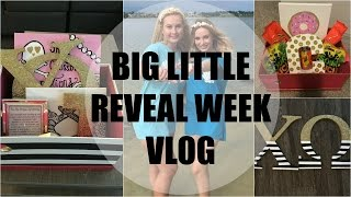 VLOG: SORORITY BIG LITTLE REVEAL WEEK | SincerelyGiannaLynn