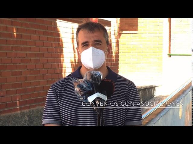 Antonio Puerto: Convenio asociaciones, comunidad de regantes e incendios zona el Castillo 2020#Aspe