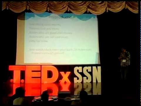 TEDxSSN-Sudhish Kamath
