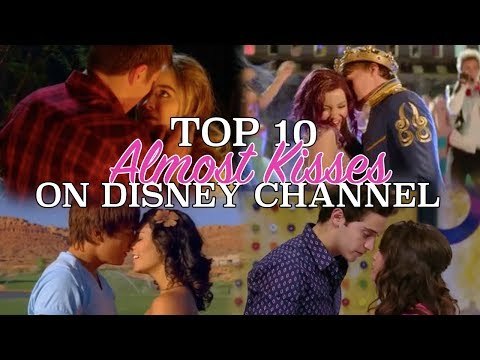 Top 10 ALMOST Disney Channel Kisses!!