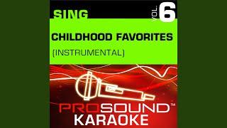 Barney Theme (Karaoke Instrumental Track) (In the Style of Children