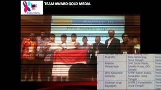 Tim Olimpiade Matematika Indonesia_HUT RI ke-69