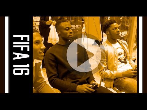 FIFA 16 Launch with Chuba Akpom, Moses Odubajo & Isaac Hayden