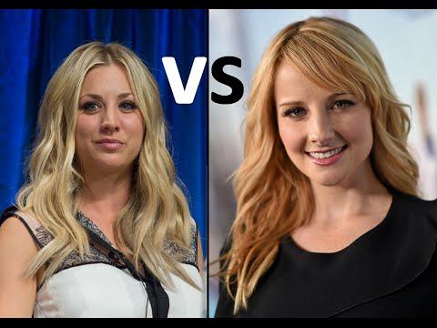 Kaley Cuoco vs. Melissa Rauch