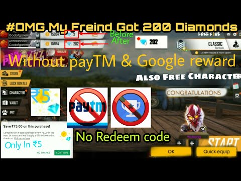 #OMG MY FREINDS GOT 200 DIAMONDS💎 IN ONLY (₹5)🔥 IN FREE FIRE [HINDI] 🇮🇳