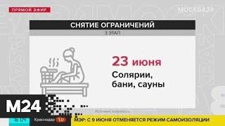 Собянин: фитнес-клубы и бассейны откроются в Москве 23 июня - Москва 24