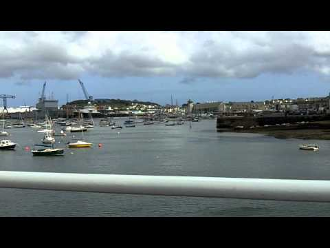 Falmouth Docks and Harbour June 2011