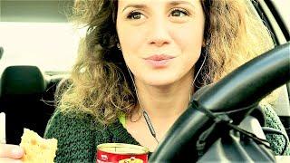 ASMR ITA || EATING SOUNDS 🌮IN THE CAR 🚘(2) L'IMBARAZZO non mi abbandona!🙄