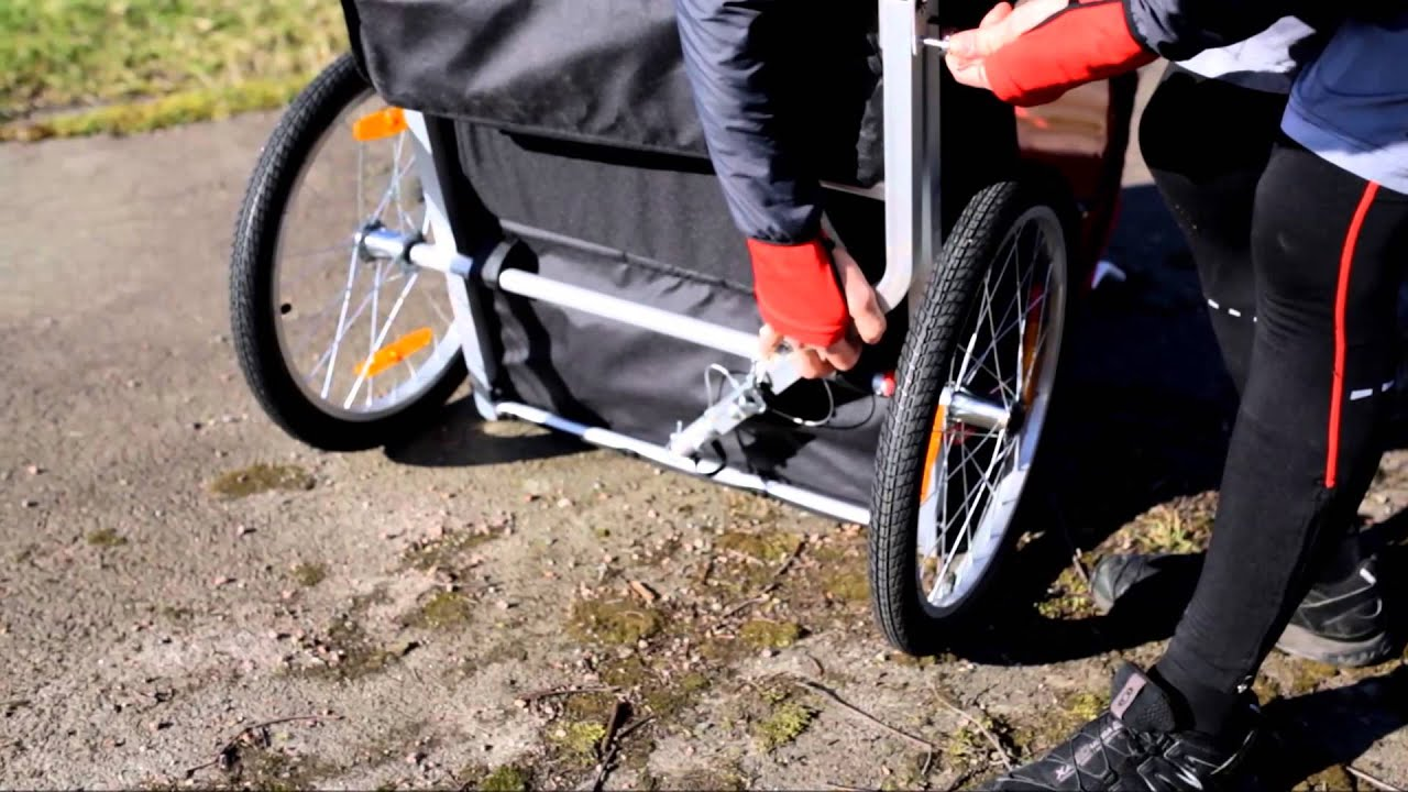 Kanon North 13.5 Cykelvagn Roadster - YouTube WZ-51