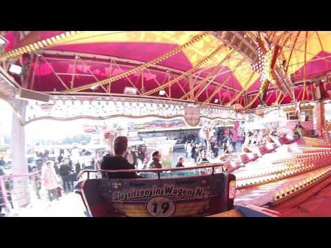 Musik Express - Schneider/Krause (Onride) Video Frühjahrskirmes Bielefeld Brackwede 2016