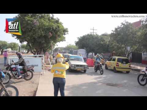 Por Festival Vallenato habilitado flujo vehicular en la Av Fundación - Gobernador Franco Ovalle