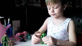 игрушки Бен Тен от Богдана(, 2012-05-12T10:28:06.000Z)