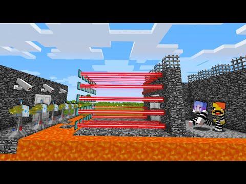 죄수 VS 최강보안 감옥 [ 집탈출 ] Escape from the strongest security prison in minecraft