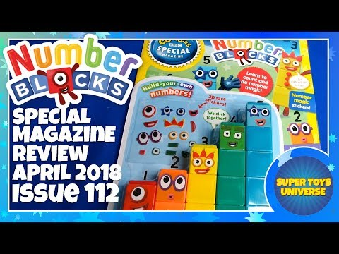 Numberblocks Magazine CBeebies Special April 2018 Issue 112