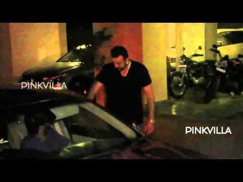 Vikas Bahl meets Sanjay Dutt at his Residence