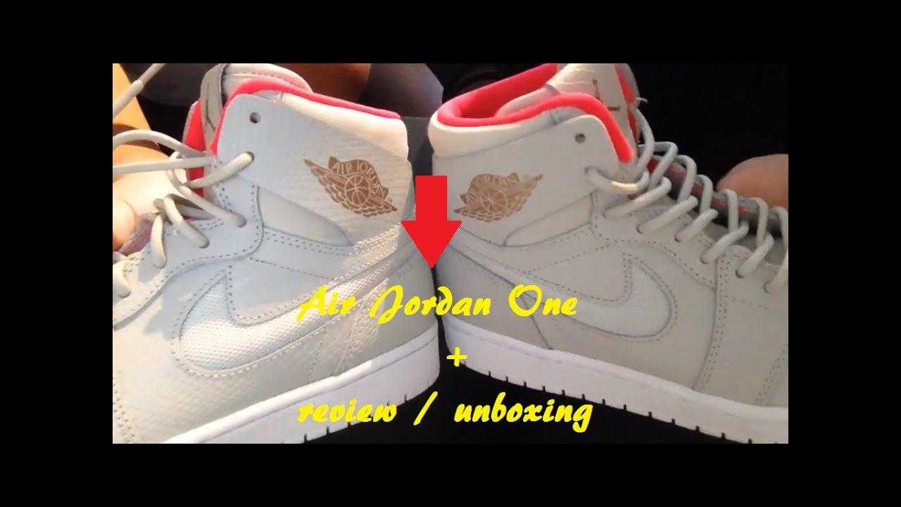 4b48589b7b97 Jordan 1 retro   light bone snake skins   unboxing review - YouTube