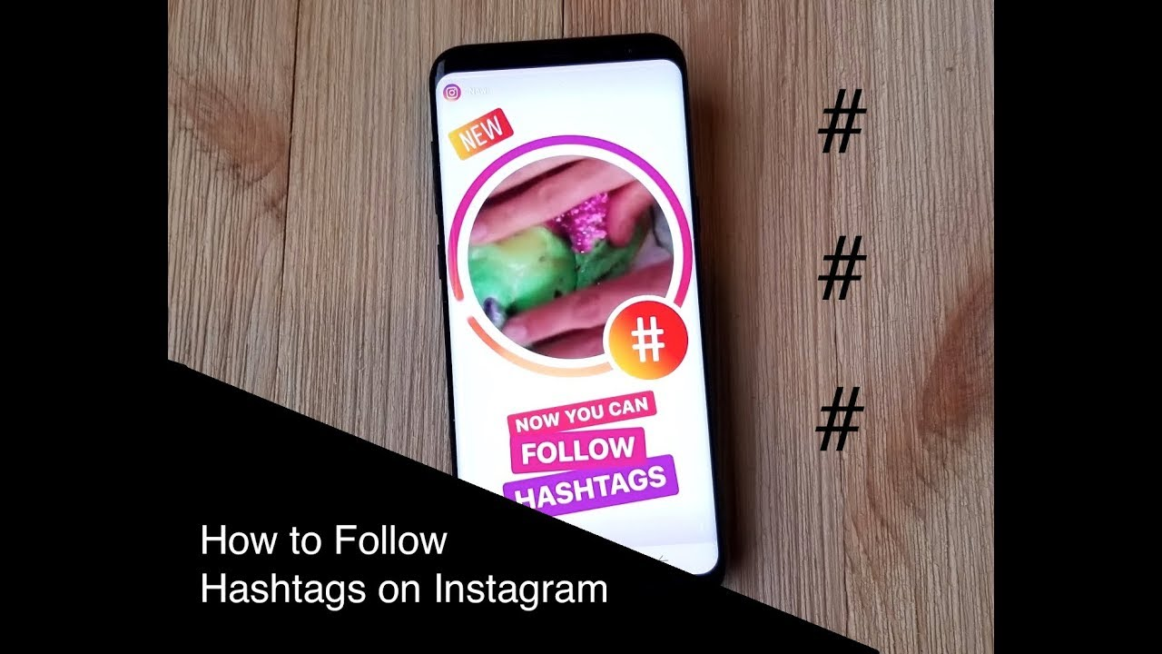 instagram how to add hashtags