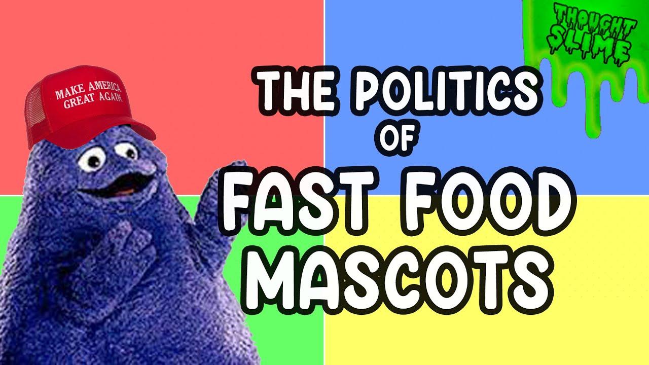 Fast Food Mascot Political Alignment Chart   Stream Highlight