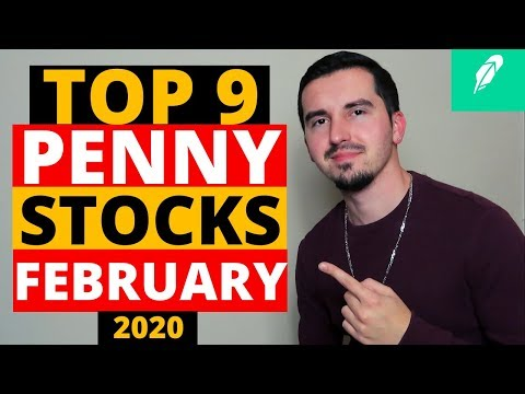 9 Top Penny Stocks To Buy🚀| FEBRUARY 2020 | 💡