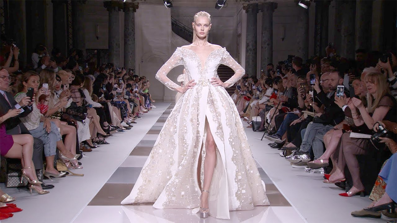Ziad Nakad | Haute Couture Fall Winter 2019/2020 | Full Show - YouTube