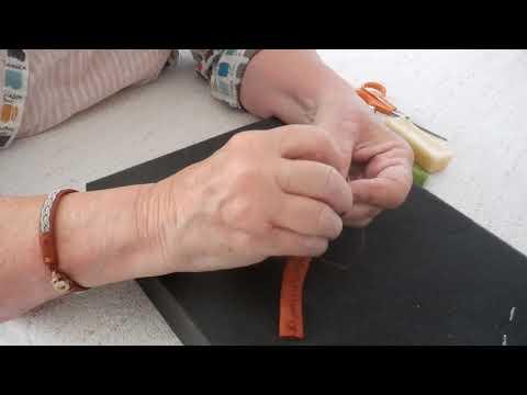 How to Sew a Sami Bracelet - Part 3
