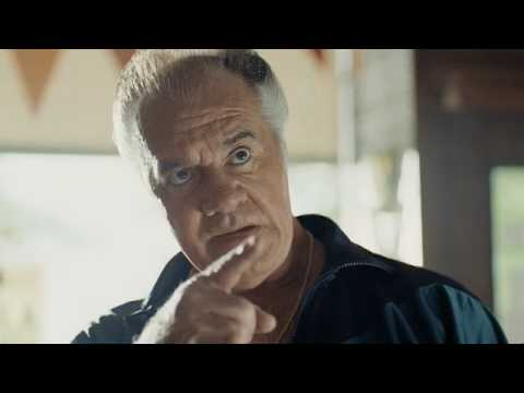 Tony Sirico from Sopranos in  a commercial for Aftonbladet