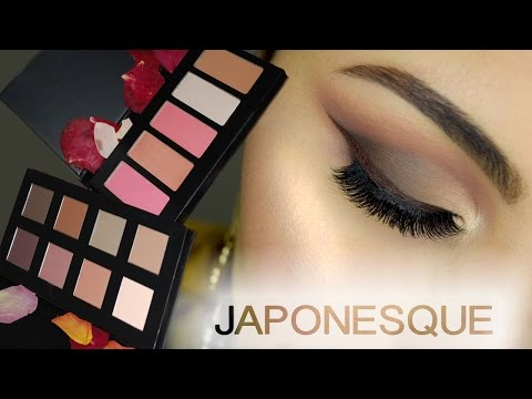 New Japonesque Velvet Touch Palettes - Demo, Swatches, First Impression | Delia Ahmed