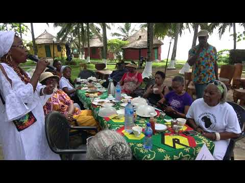 IMAHKÜS Tells Story at One Africa Resort - Ghana Nov 2017 Tour