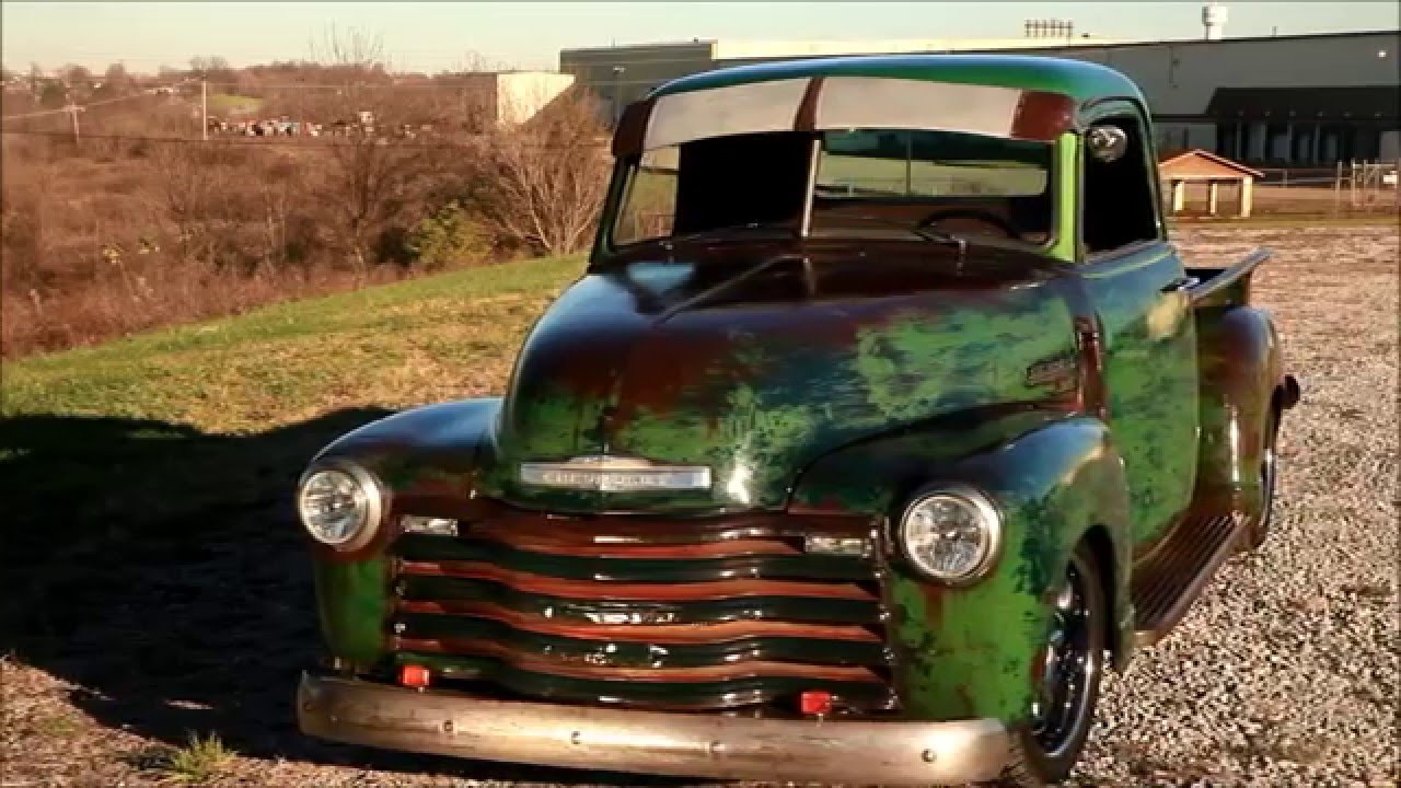 1949 Slammed Chevrolet Hot Rat Street Rod Pro Touring Patina Truck Chevy The Dragon