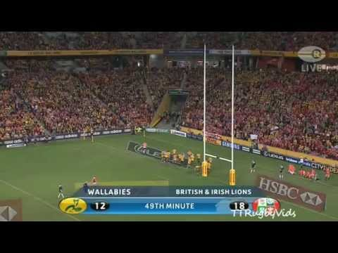 Wallabies vs British & Irish Lions 1st Test 2013 Highlights