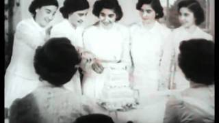 Dionne quintuplets graduate from High School 1952