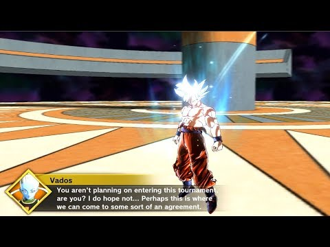 Mastered Ultra Instinct Goku [Parallel Quest : Vados the Talent Scout] - DBX2 Mods