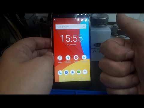 FRP! PRESTIGIO Muze G5 LTE PSP5522 DUO. Android 8. Сброс аккаунта Google. Без ПК!