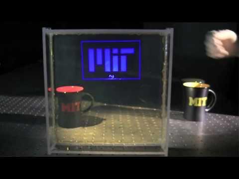 Transparent Displays at MIT