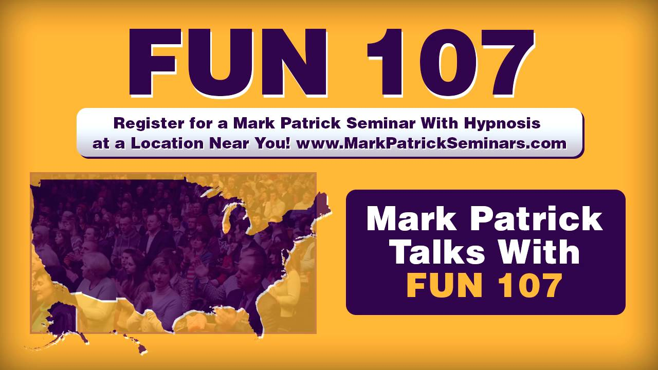 New Bedford, MA - FUN 107 - Interview With Mark Patrick - Mark