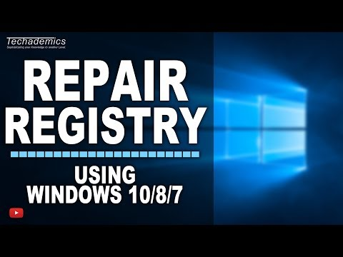 How To FIX Registry Errors In Windows 10/8/7 | EASY