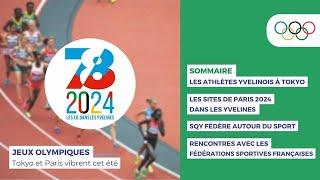Jeux Olympiques : Tokyo et Paris vibrent cet été