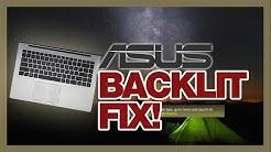 2019 ASUS laptops keyboard back light fix (after Windows 10 update) (WORKING!!!)