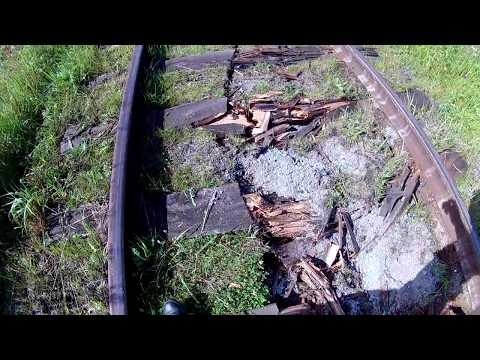 последствие аварии на железной дороге в Слободском(Воробьи)