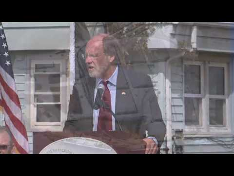 Jon Corzine: Port of Paulsboro Groundbreaking