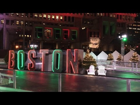 Boston Winter Fest City Hall Plaza- D Tours #36 12/11/16