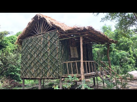 Download Episode 9 - 200 Days Living In The Forest, Beautiful Home Decoration, Catch and Cook, Grow Vegetable