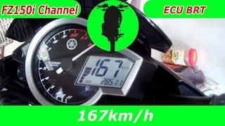Download Video FZ150i Max Speed không tải với ECU BRT Juken 5 MP3 3GP MP4