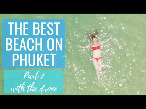 The Best Beach On Phuket: CAPE PANWA HOTEL Part 2 - DRONE | Kathryn Tamblyn | Thailand Vlog