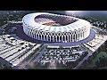 SPORT ET DÉVELOPPEMENT : VISITE DU CHANTIER DU FUTUR STADE OLYMPIQUE D'EBIMPE EN CÔTE D'IVOIRE