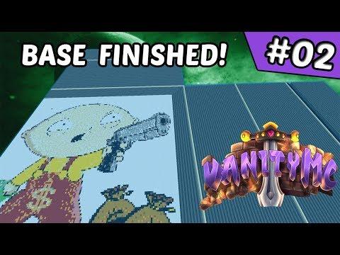 Finishing the Base Work!! | VanityMC Map 7 #2 (Minecraft Factions)